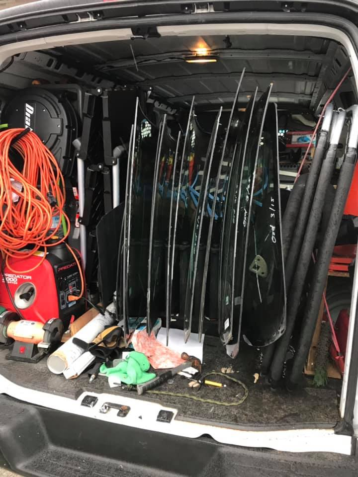 windshield replacement van